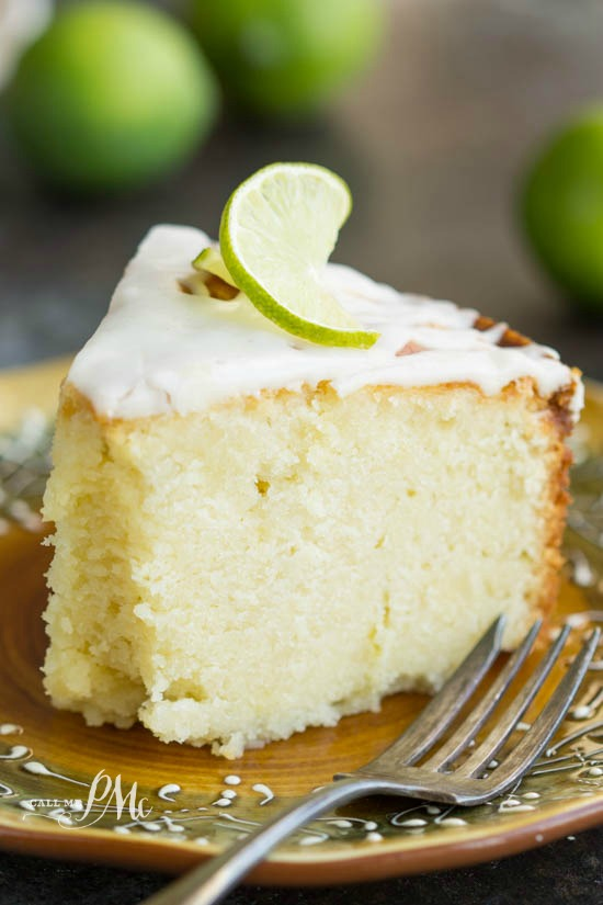 Scratch-made Key Lime Pound Cake Recipe with Key Lime Glaze