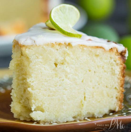 Key Lime Pound Cake From Scratch