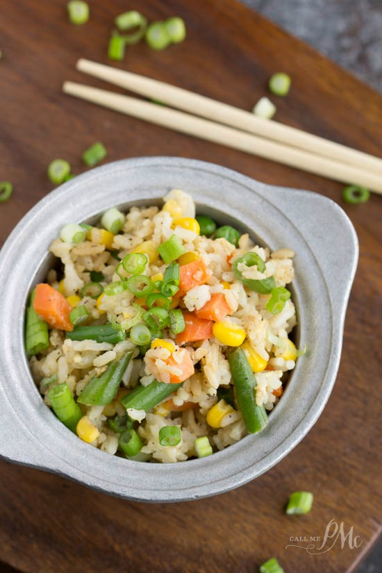 Shortcut Fried Rice recipe is faster and cheaper than restaurant or delivery.