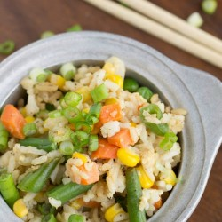 Shortcut Fried Rice recipe