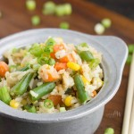 Shortcut Fried Rice recipe is full of color, nutrients, and flavor.