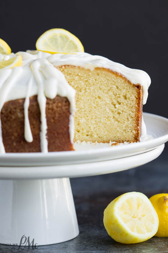 Trisha Yearwoods Lemon Pound Cake with Glaze recipe - This easy to make recipe, is loaded with delicious lemon flavor, and topped with an amazing lemon frosting.