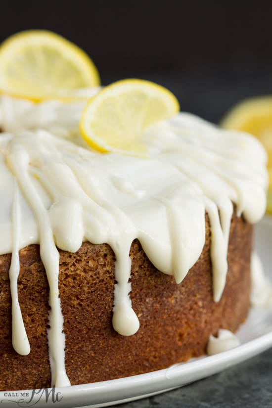 Cooked Lemon Glaze For Cake
