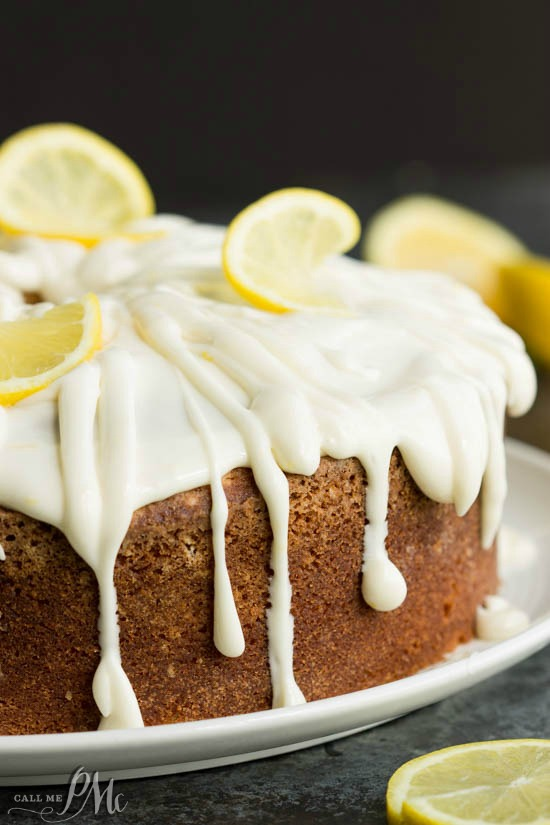 Trisha Yearwoods Lemon Pound Cake with Glaze recipe is super moist and beyond delicious
