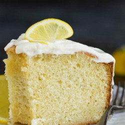 Trisha Yearwood's Lemon Pound Cake with Glaze