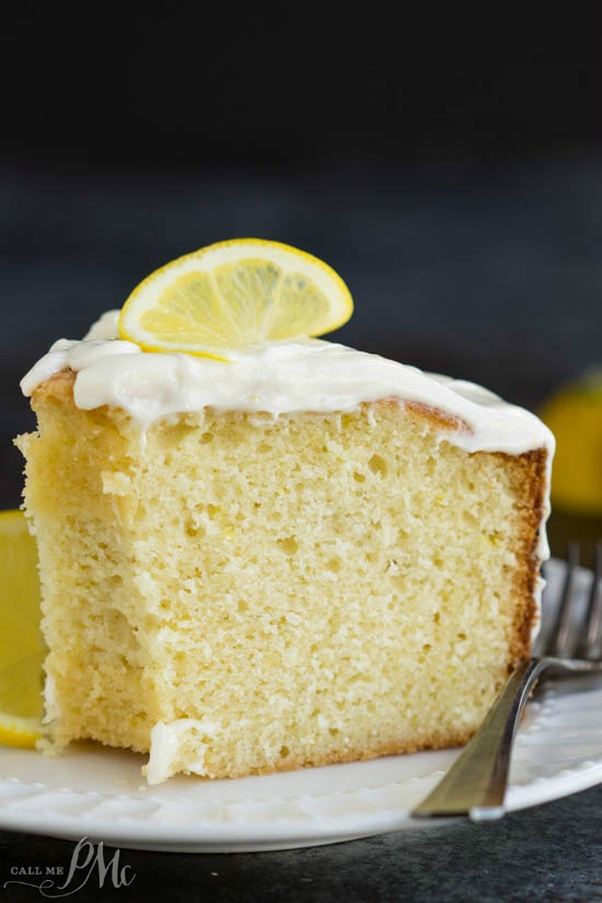 Trisha Yearwood's Lemon Pound Cake with Glaze is moist and perfectly flavored. This cake is bright and fresh and a must-make recipe. #poundcake #cake #dessert #recipe #homemade #easy #bundt via @pmctunejones