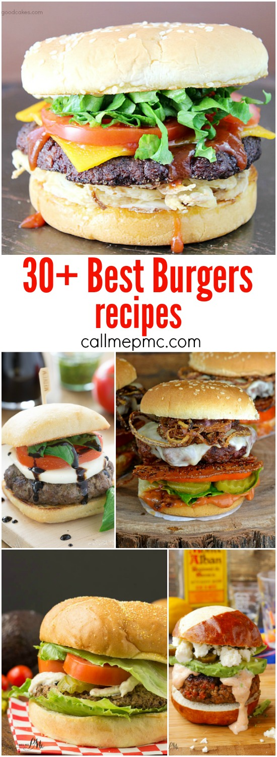 30 Best Burgers recipes
