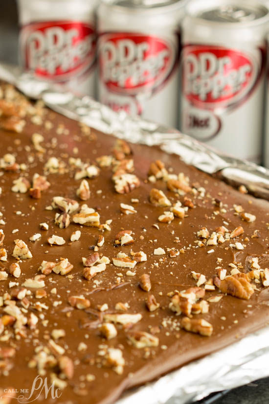 Diet Dr Pepper® Texas Sheet Cake recipe is a rich chocolate cake that's great for potlucks. #ad #SweetFUNd