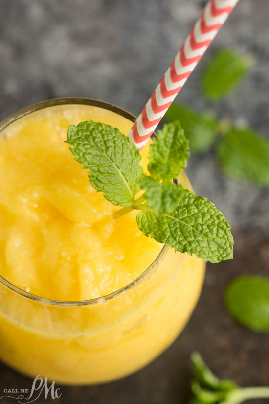 Tropical Mango Freeze recipe is sweet, citrusy, refreshing and packed with vitamin C. #EmbraceYourTaste