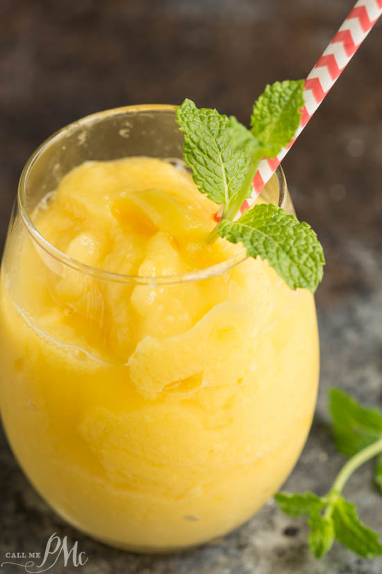 Tropical Mango Freeze recipe - Refreshing drink made with the perfect blend of mangos and pineapples