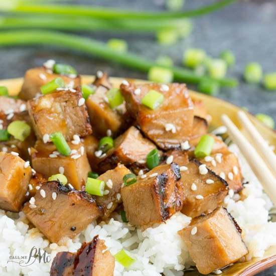 Honey Soy Pork Loin recipe is spicy, sweet, and very simple to make. This pork is delicious and tender and will melt in your mouth.