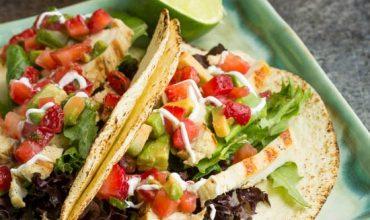 Mojito Grilled Chicken Tacos recipe