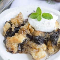 3 Step Oreo Cookie Dump Cobbler