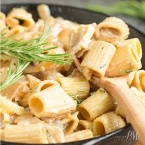 Caramelized Vidalia Onion Casserole is rich, decadent, and filling. This meatless family dinner recipe is made in one pan making clean-up wonderfully short!
