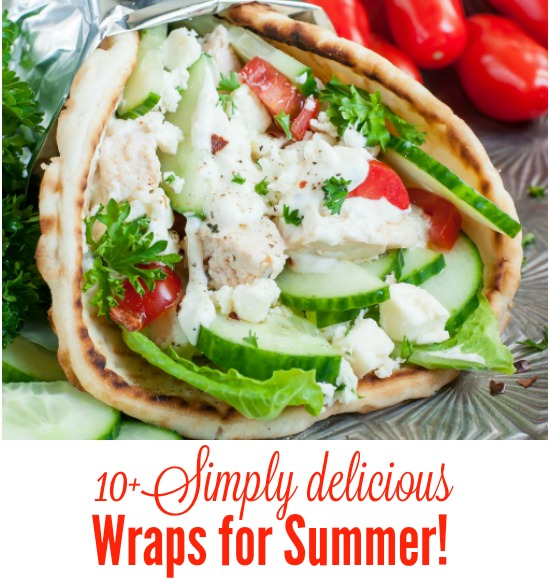 Delicious Wraps for Summer