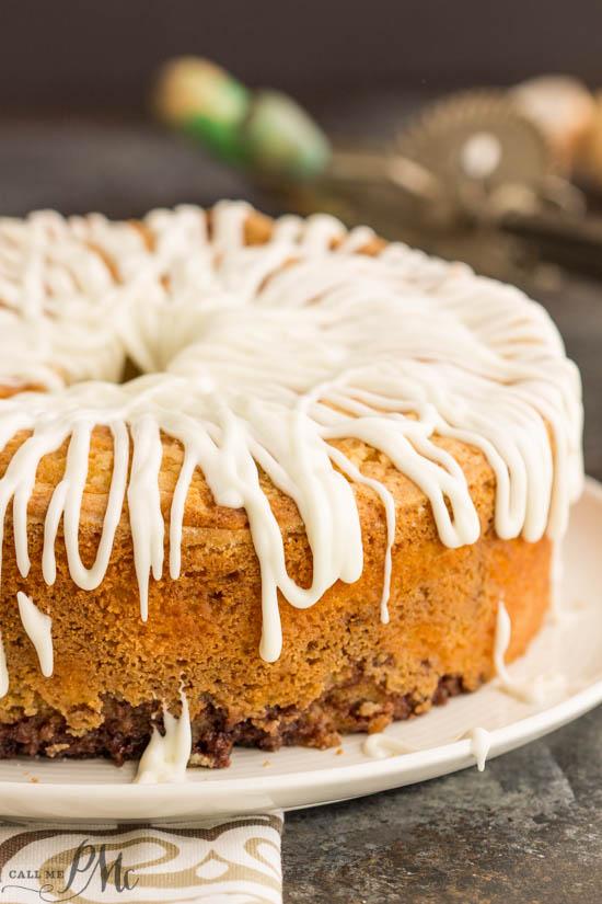 Amaretto Sour Cream Cake