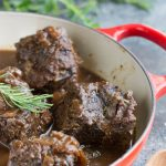 Molasses Pomegranate Braised Short Ribs. Succulent short ribs are braised in a molasses and pomegranate liquid that's spiked with spices.