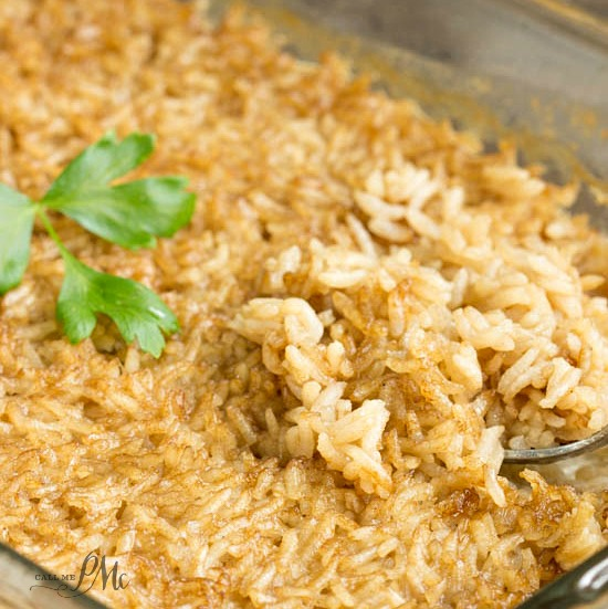 One Pan Stick of Butter Rice recipe