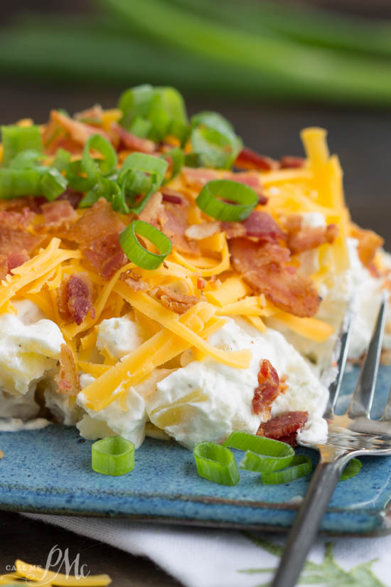 Bacon Ranch Twice Baked Potato Salad Recipe