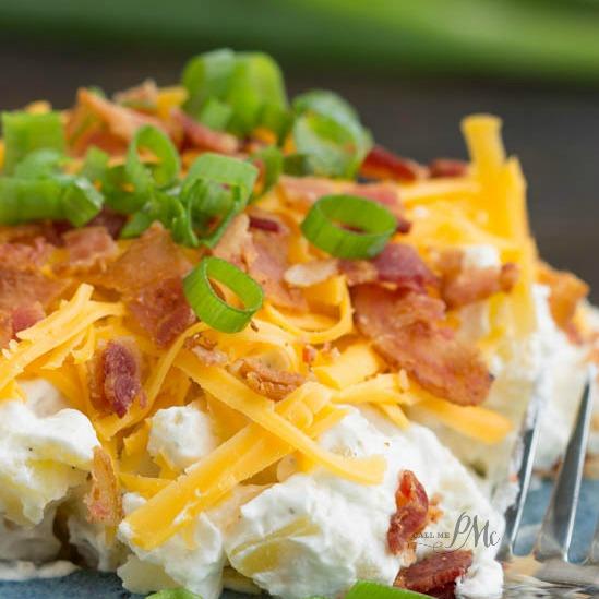 Bacon Ranch Twice Baked Potato Salad Recipe