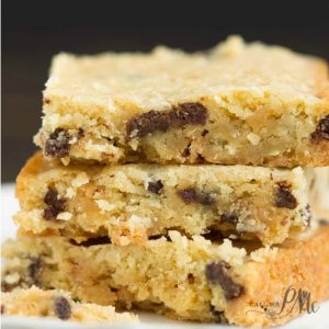 Caramel & Coconut Blondies s