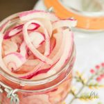 No Cook Pickled Red Onions