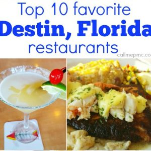 Top 10 favorite Destin, Florida restaurants