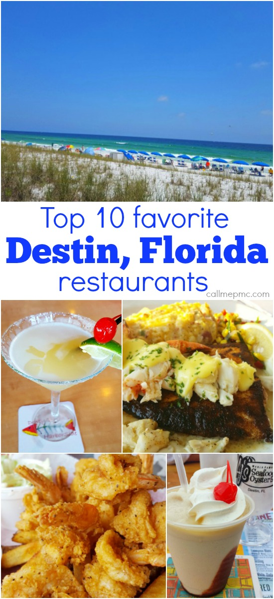 My Favorite Destin Fl Restaurants