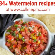 34+ Yummy Watermelon Recipes