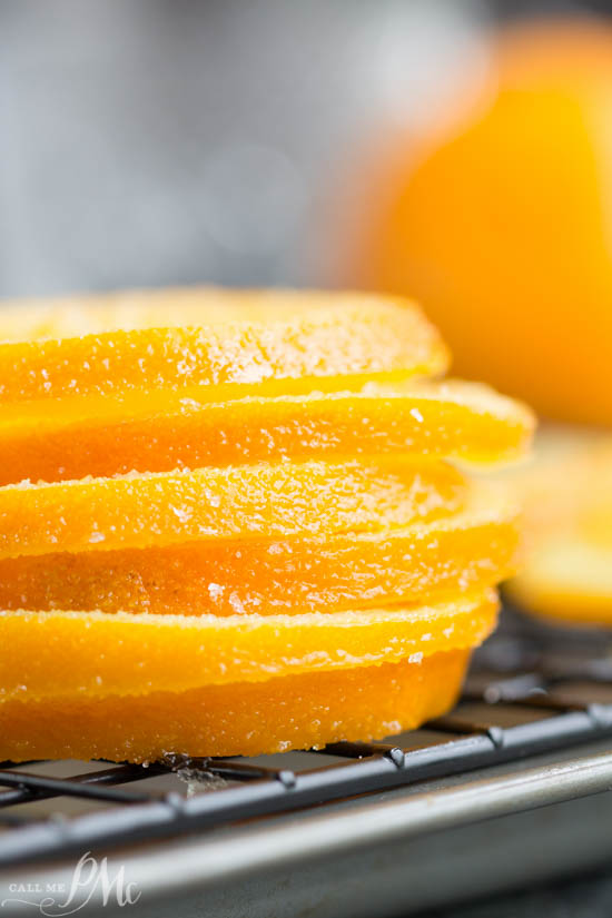 Candied Orange Slices recipe how to