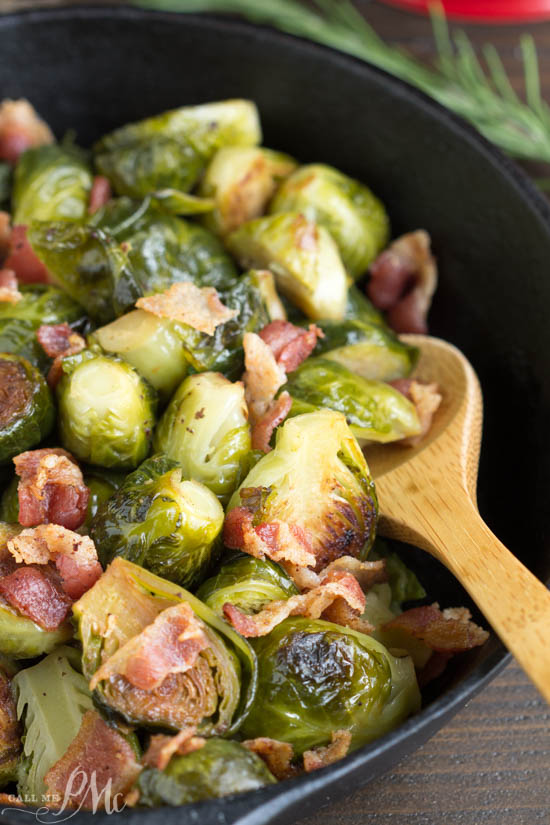 A tasty and versatile side dish recipe. Kentucky Bourbon Braised Bacon Brussel Sprouts have lots of texture and flavor from braising them in a bourbon mixture and tossing with smokey bacon.