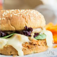 Leftover Turkey Bruschetta Slider with Balsamic Mayonnaise