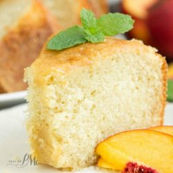 Kentucky Butter Sauce Pound Cake