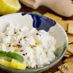 Boshamps Feta Dip is cheesy, creamy, tangy, and takes just minutes to whip up! This easy appetizer dip recipe is loaded with cream cheese, garlic and a squeeze of lemon to brighten the flavor. Heat it in the microwave and serve hot with toasted pita wedges, toasted baguette slices, or your favorite sturdy chip or cracker.