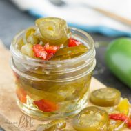 Candied Sweet Heat Pickled Jalapeno Recipe