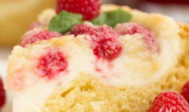 Raspberry Streusel Cream Cheese Coffee Cake