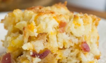 Bacon Cheese Butter Pan Biscuits
