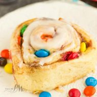 M&M Cinnamon Rolls