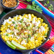 Skillet Mexican Street Corn Recipe