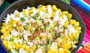 Skillet Mexican Street Corn Recipe