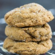 Blue Ribbon Chewy Molasses Ginger Cookies