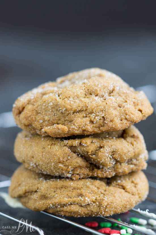 Perfectly flavored, Blue Ribbon Chewy Molasses Ginger Cookies recipe have a snap from the sugar on the outside but are luscious and chewy without being cakey on the inside.