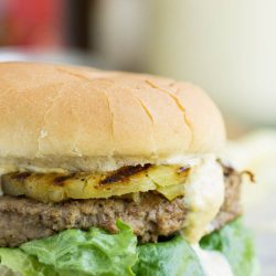 Hawaiian Pineapple Turkey Burger Recipe with Teriyaki Mango Sauce if you're looking for a traditional burger alternative that's lower in fat and calories but still big on flavor, this is your burger.