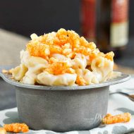 Eight Cheese Mac n Cheese with Cheetos Recipe