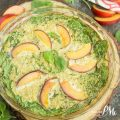 Apricot Spinach Quinoa Crustless Quiche Recipe