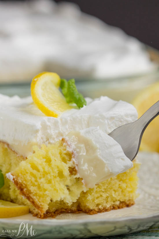 Lemon Icebox Cake was inspired by the classic pie, this silky, refrigerated cake has the popular filling made with lemon juice and sweet condensed milk. It's the perfect marriage of tangy, tart lemon filling and buttery cake and crowned with fluffy whipped cream.