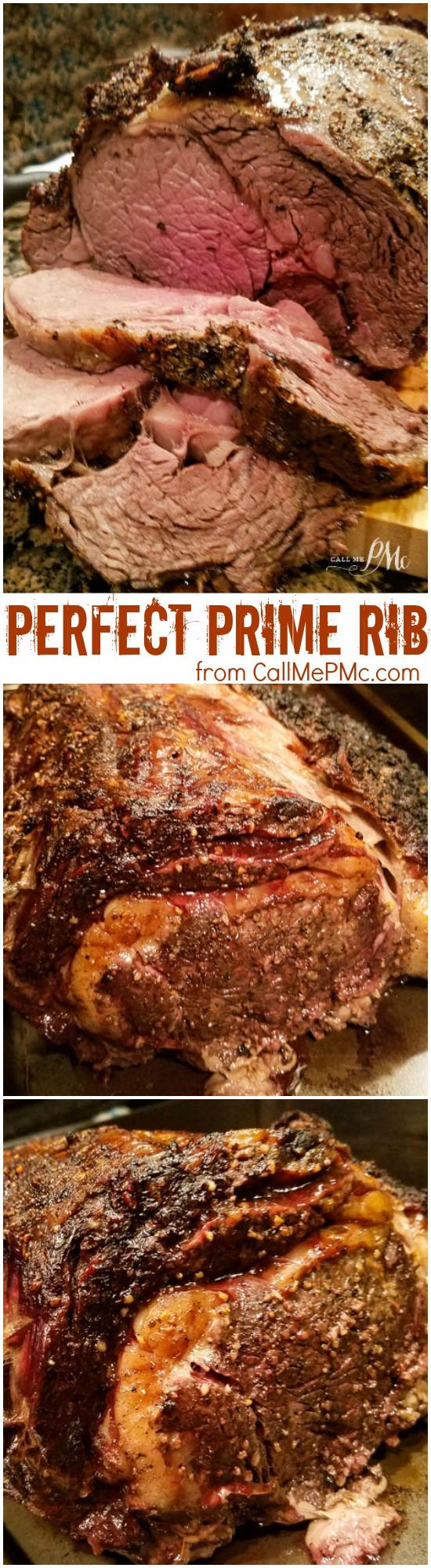 Perfect Prime Rib Medium Rare Oven Cooked recipe