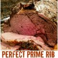 PERFECT MEDIUM RARE OVEN ROASTED PRIME RIB