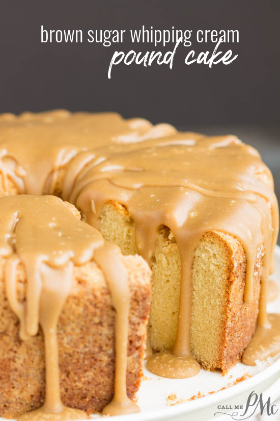 Cold Oven Brown Sugar Whipping Cream Pound Cake is perfectly moist, velvety on the inside &t crusty top#cake #poundcake #poundcakefromscratch #poundcakepaula #dessert #recipe #fromscratch #callmepmc #recipes #baked via @pmctunejones