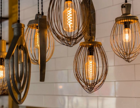 mixer lights - Local Eats | Forklift Restaurant is a new local restaurant that is making waves for their updated Southern classics using fresh, local ingredients.